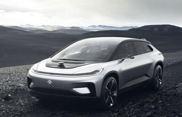 В 2018 году выходит новый электромобиль компании Faraday Future