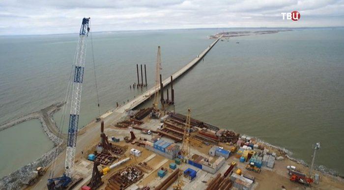 В аннексированном Крыму нашли подрядчика для строительства подхода к керченскому мосту