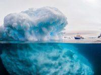 В Антарктиде отколется айсберг площадью 5 тыс кв. км и поднимет уровень воды на 10 см