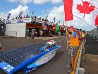 """В Австралии проходит международная гонкана """"солнечных автомобилях"""""""