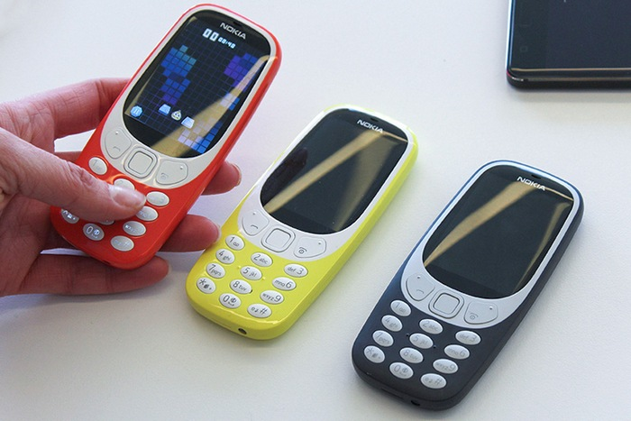 В Барселоне презентовали новую версию легендарного телефона Nokia 3310