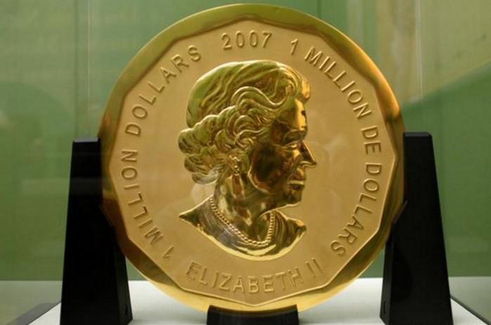 В берлинском музее Боде украли монету в 1 миллион долларов