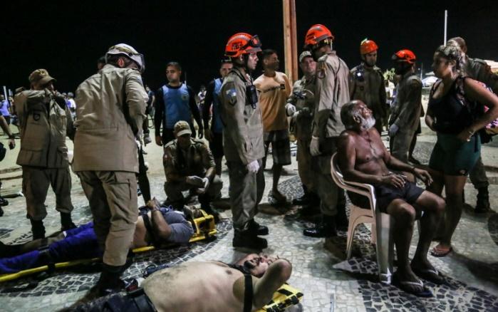 В Бразилии автомобиль въехал в толпу, есть раненые
