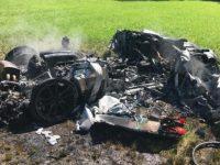 В Британии владелец Ferrari разбивает авто через час после покупки
