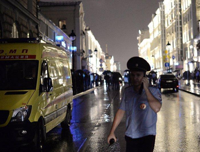 В центре Москвы мужчина захватил банк с заложниками - обошлось без жертв