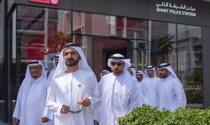 В Дубае открылся полицейский сервисный смарт-центр
