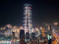 В Дубае отменилиновогодний фейерверк у башни Бурдж Халифа