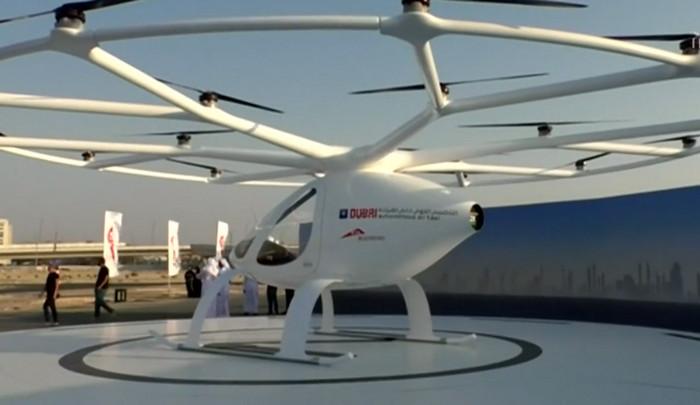 В Дубае прошли испытания автономного летающего такси