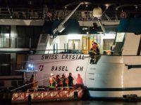В Германии круизный пароход потерпел катастрофу