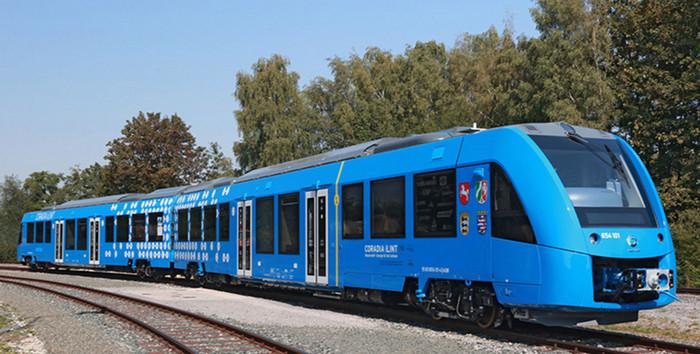 В Германии прошли испытания поезда на водородном топливе