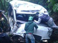 В Гватемале упал в пропасть автобус с пассажирами