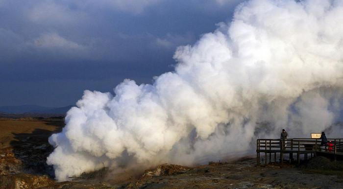 В Исландии из вулканов получают экологически чистую энергию