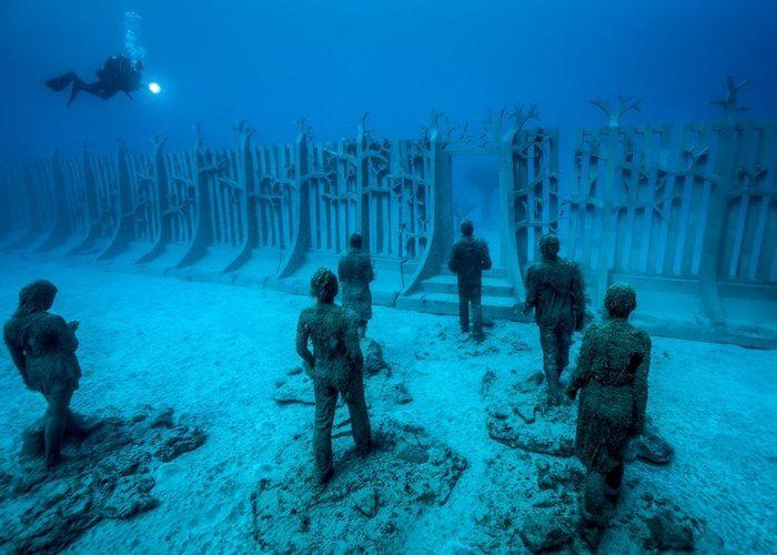 """В Испании открылся подводный музей """"Атлантико"""" (фото)"""