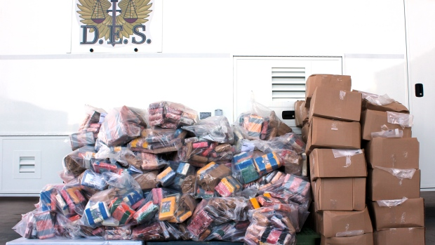 В Канаде конфискована рекордная партия кокаина на сумму $250 млн