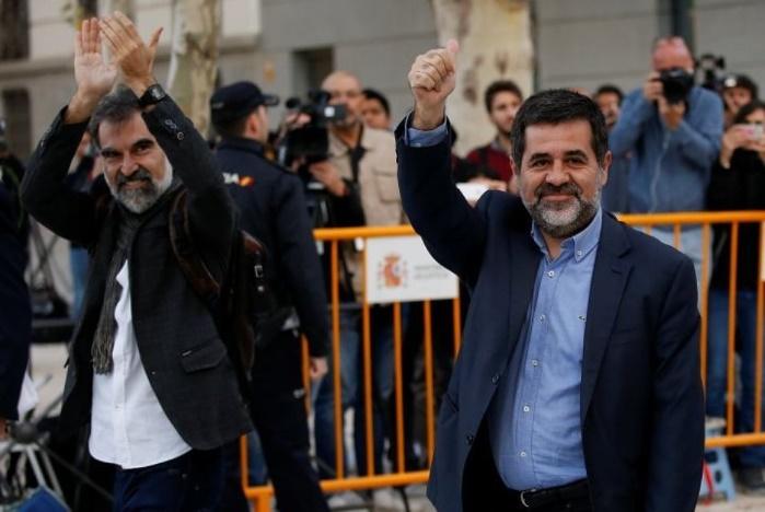 В Каталонии начались аресты лидеровобщественных организаций