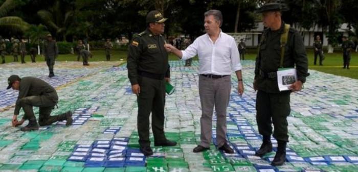 В Колумбии изъята самая крупная в истории партия наркотиков