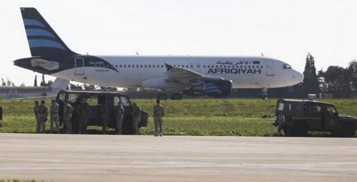 В Ливии угнан самолет с 118 пассажирами