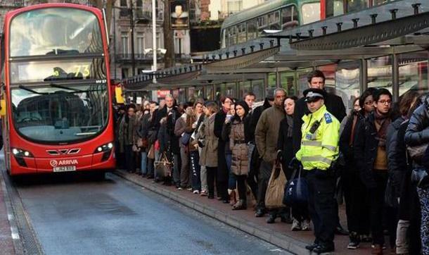 В Лондоне транспортный коллапс из-за забастовки метрополитеновцев
