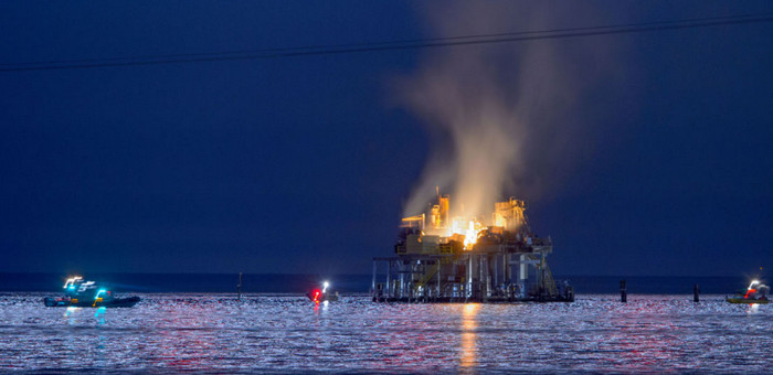 В Луизиане взорвалась нефтяная платформа: есть пострадавшие