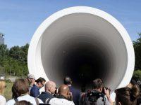 В Нидерландах построен испытательный участок для сверхскоростного поезда Hyperloop
