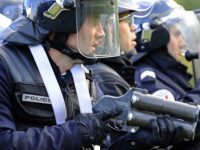 В Париже беспорядкии столкновения демонстрантов с полицией