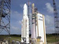 В последний момент отложен запуск ракеты-носителя Ariane-5