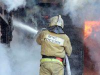 В России в пожаре погибли пять детей
