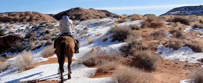 В Сахаре прошел аномальный снегопад