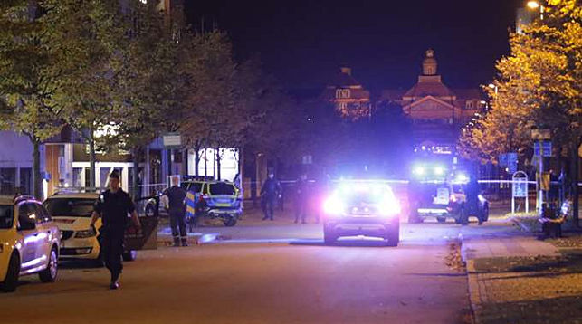 В Швеции взорвали отделение полиции