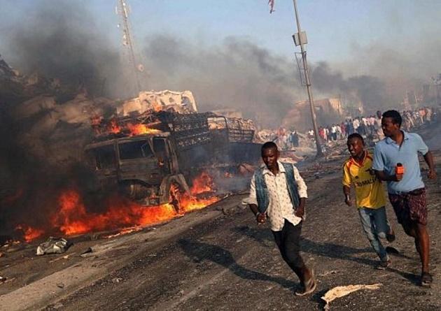 В Сомали совершен двойной теракт: десятки убитых в Магадишо