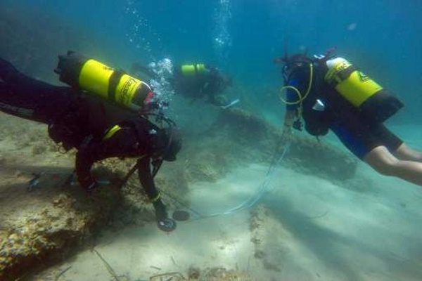 В Средиземном море обнаружен древний город