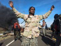 В США сносят лагерь индейцев племени Сиу из-за указа Трампа