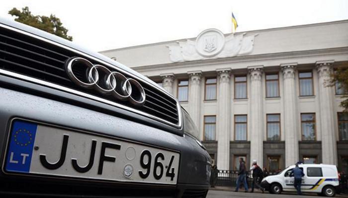 В Украине более 60% ввезенных иномарок подлежат штрафу за нарушение срока пребывания