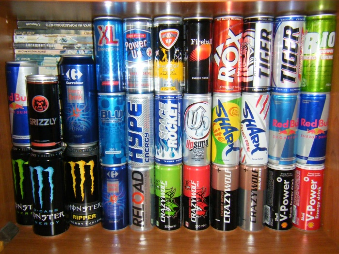 В Украине предложили энергетические напитки обложить налогом