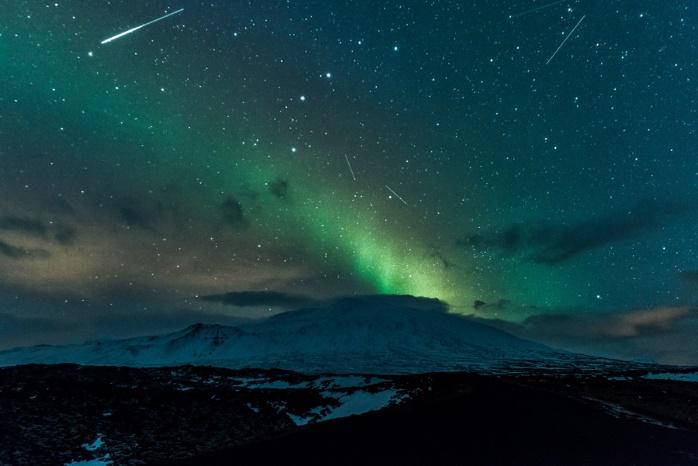 В украинском небе пронесется метеоритный поток Квадрантиды