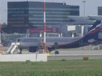 В Варшаве российский самолет Airbus 320 врезался в польский