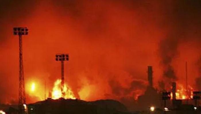 В Венесуэле на нефтеперерабатывающем заводе произошел взрыв