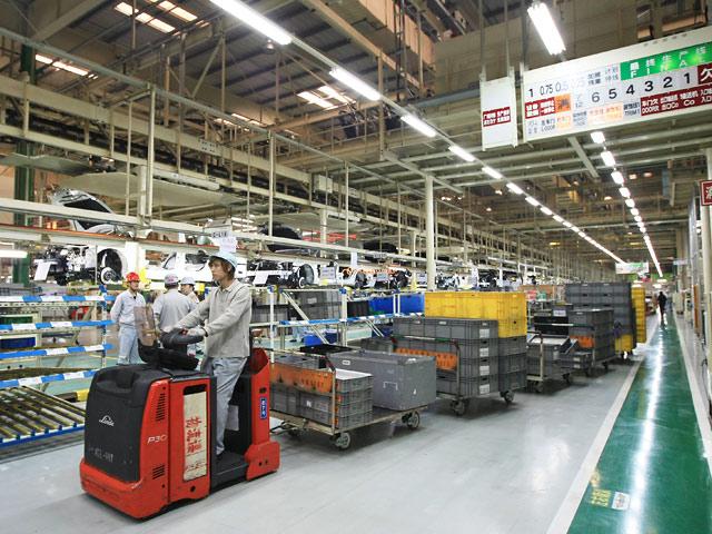 В Японии ускорился рост промпроизводства