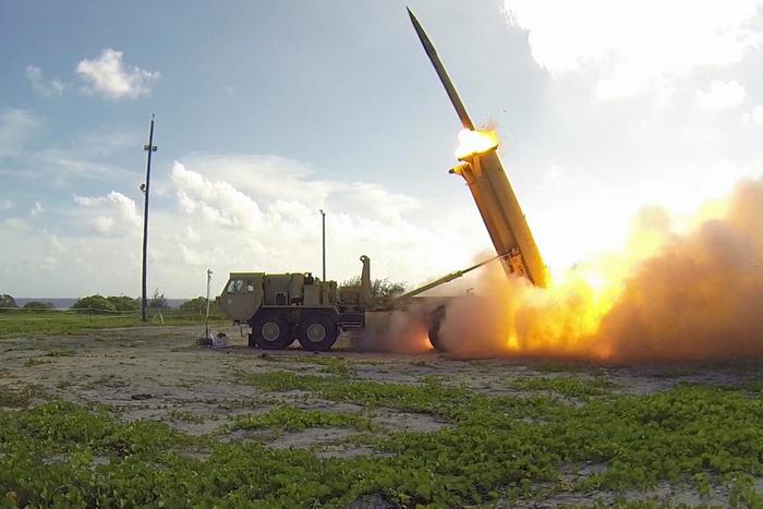 В Южной Корее прошли демонстрации против внедрения системы противоракетной обороны THAAD