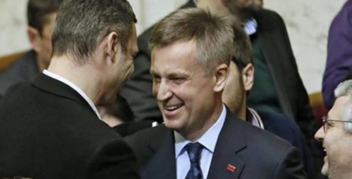 Валентин Наливайченко оштрафован за незаконное пересечение украинской границы