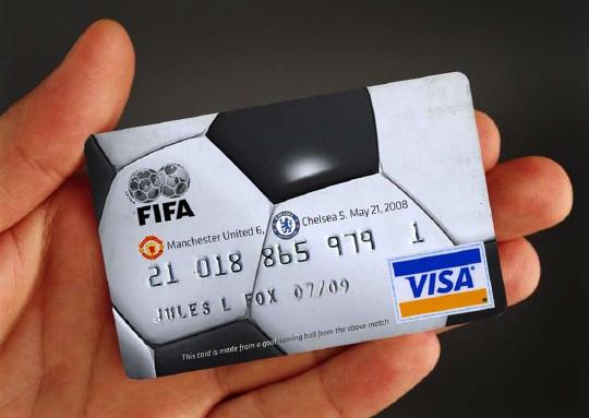 VISA может отказаться от спонсорства ФИФА