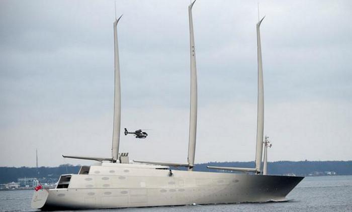 Власти Гибралтара конфисковали яхту российского миллиардера Андрея Мельниченко