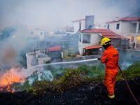 Власти Португалии просят экстренной помощи из-за пожаров. Испанцы объявили трехдневных траур