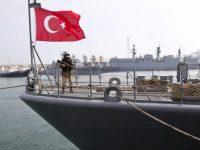 ВМС Турции не позволили кораблям ВМС Греции приблизиться к спорным островам