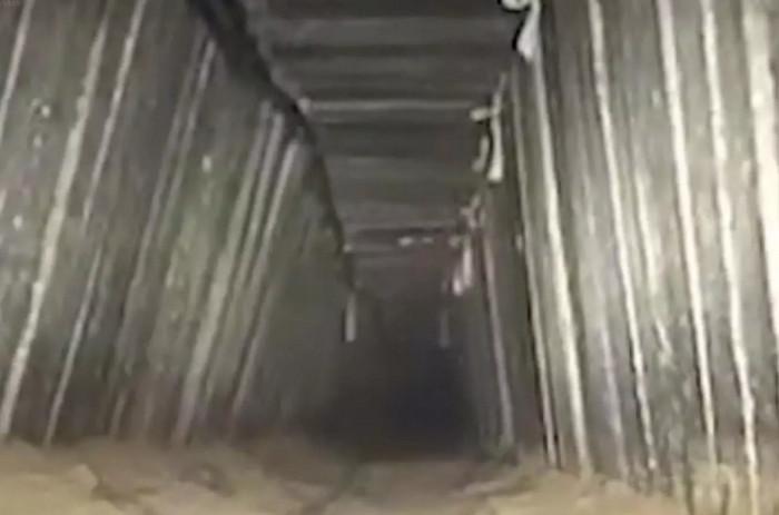 Военные Израиля разрушили крупный трансграничный туннель из Газы в Египет