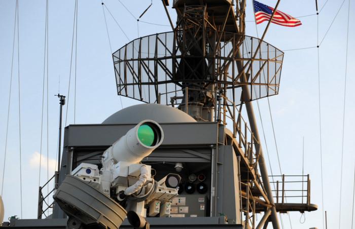 Военные Великобритании работают над лазерным оружием