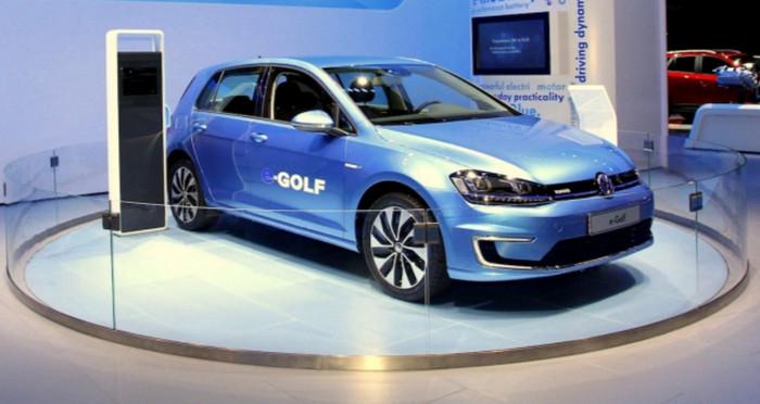 Volkswagen планирует продать 400 000 электромобилей до 2020 года в Китае