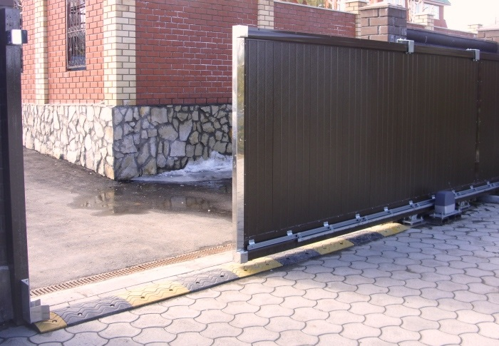 Бизнес идея: производство откатных ворот