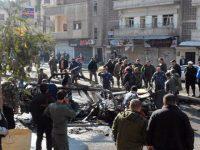 Восемь мирных жителей погибли из-за взрыва в Сирии