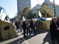 Митингующие объявили Порошенко ультиматум из двух пунктов